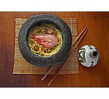 Prawn Noodles  Photographic Print