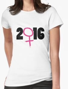 2016 election Womens Fitted T-Shirt