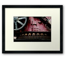The Iron Maiden rests Framed Print