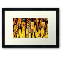 Metal works Framed Print