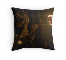 Da Jarl Throw Pillow