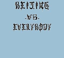 Beijing VS everybody Unisex T-Shirt