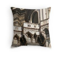 Patterns and Shapes In Florence Throw Pillow