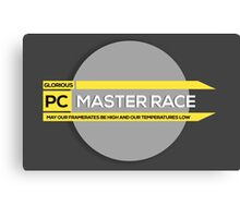 Glorious PC Master Race Canvas Print