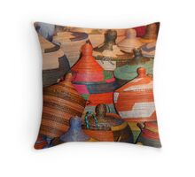 Basket Case Throw Pillow