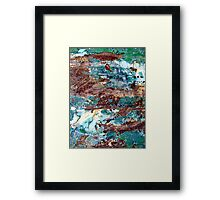 Rockpools by the Sea Framed Print