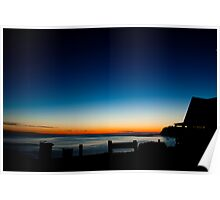dee why sunrise Poster