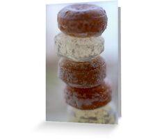 Sweet Stack Greeting Card