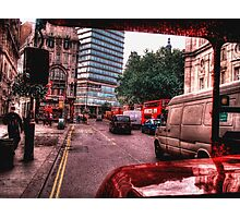 Routemaster (HDR) Photographic Print