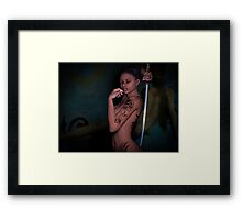 Determine your fate Framed Print