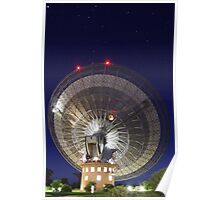 Radio Telescope Parkes Poster
