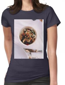 Yogurt Breakfast Womens Fitted T-Shirt