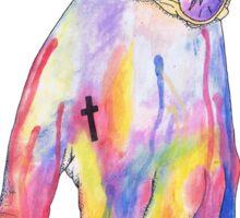 Harry Styles Watercolor Hand Sticker