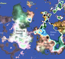 Map of Earthsea by AlienVisitor