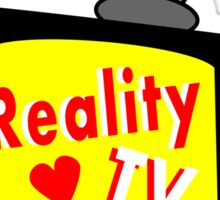 Reality TV My BFF Old-fashioned TV Set Sticker