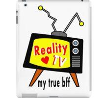 Reality TV My BFF Old-fashioned TV Set iPad Case/Skin