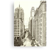Downtown Oklahoma City Metal Print