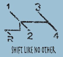 Shift like no other - VW Gear Shift Kids Clothes