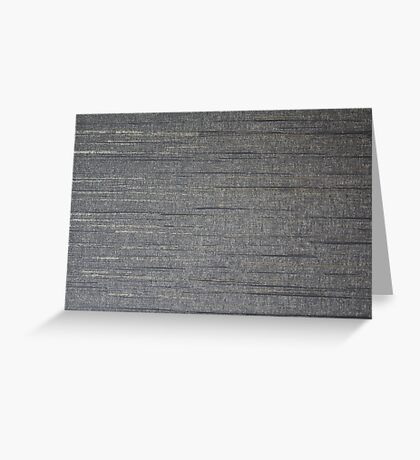 Gray streaks  Greeting Card