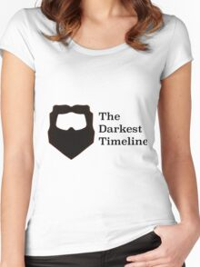 The Darkest Timeline Women's Fitted Scoop T-Shirt