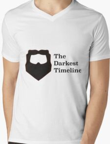 The Darkest Timeline Mens V-Neck T-Shirt