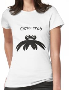 Octo-crab Womens Fitted T-Shirt