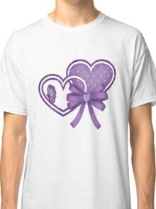 Lilac Hearts Classic T-Shirt