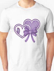Lilac Hearts T-Shirt