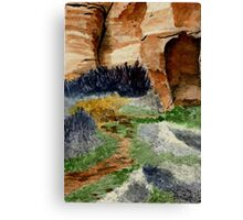 Canyon Path for Challenge Canvas Print