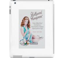 Hollywood Honeymoon™ Poster iPad Case/Skin