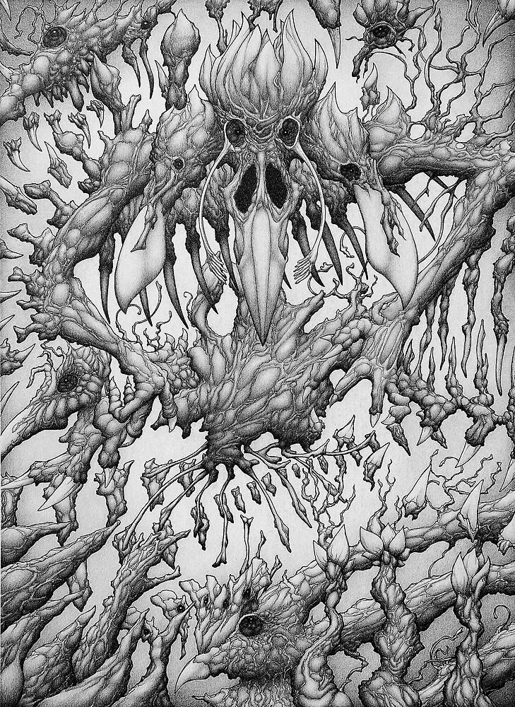 Glossolaliapteryx by Matt Pinyan