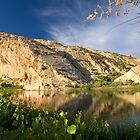 Split Mountain Reflections by Kim Barton
