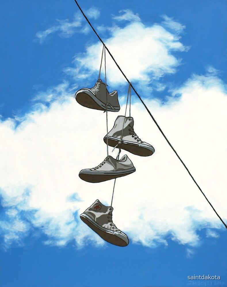 Sky Chucks by saintdakota