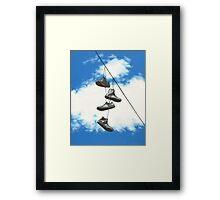 Sky Chucks Framed Print