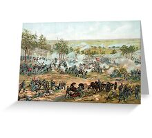 Battle Of Gettysburg -- American Civil War Greeting Card