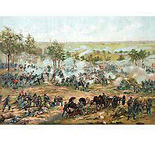 Battle Of Gettysburg -- American Civil War Photographic Print