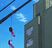 Pink Shoes by saintdakota