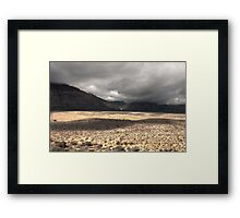 Red Rock HDR Framed Print