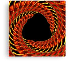 abstract design template Canvas Print