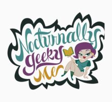 Nocturnally Geeky Me Banner Kids Clothes