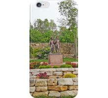 Tom & Huck Statue iPhone Case/Skin