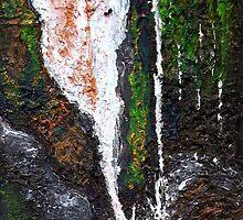 Waterfall, near Lochailort, Scottish Highlands  by Matthew Rogers