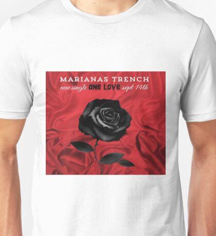 marianas trench single one love Unisex T-Shirt