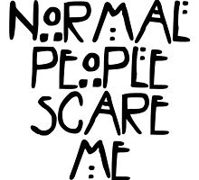 American Horror Story Normal People by obsidiandream