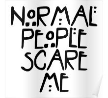 American Horror Story Normal People Poster