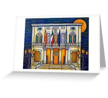 A Night at the Fenice Greeting Card