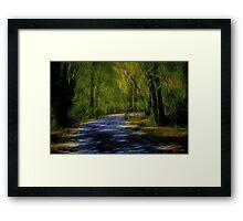 Forest Matrix Framed Print