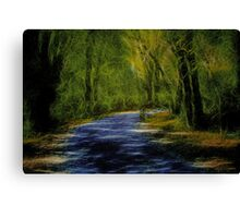 Forest Matrix Canvas Print