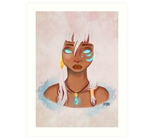 Princess Kida Art Print