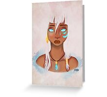 Princess Kida Greeting Card